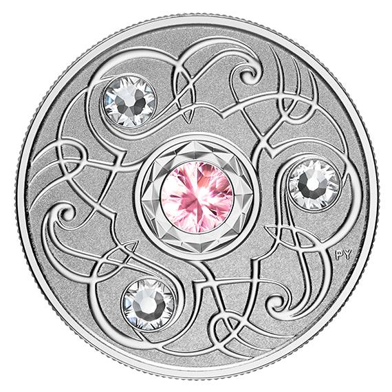 Stříbrná mince Birthstone Collection říjen 1/4 oz proof 2020