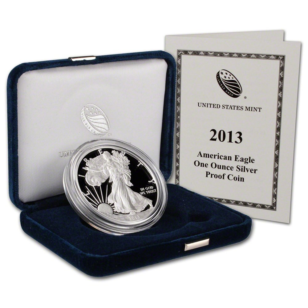 Stříbrná mince American Eagle 1 oz proof