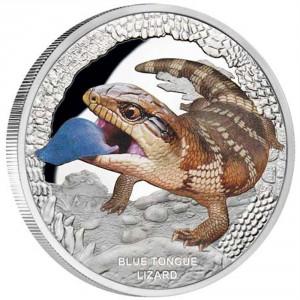 Stříbrná mince Tilikva obrovská 1 oz proof 2015