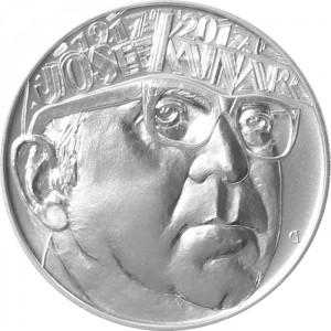 Stříbrná mince 100. výročí narození Josefa Kainara b.k.