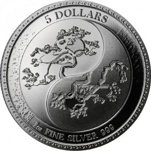 Stříbrná mince Equilibrium 1 oz BU 2018
