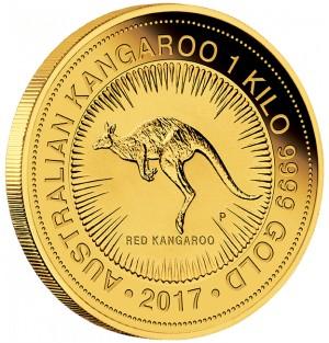 Zlatá mince Klokan 1 kg