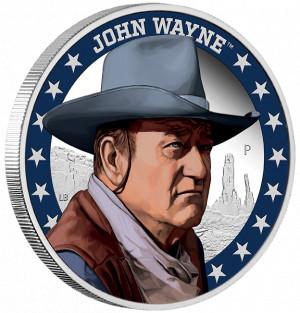 Stříbrná mince John Wayne 1 oz proof 2020