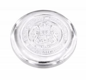 Stříbrný investiční slitek Button 5 oz Scottsdale