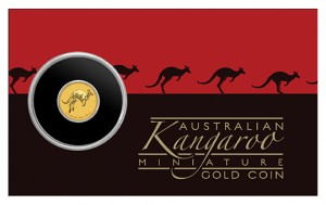 Zlatá mince Mini Roo proof 0,5 g