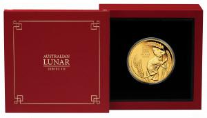 Zlatá mince Rok Myši 1 oz proof 2020 Lunární série III