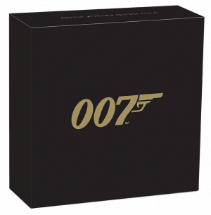 Zlatá mince James Bond 007 1/4 Oz Proof 2020
