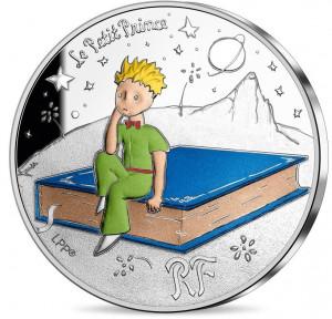 Stříbrná mince Malý princ - Kniha proof 2021