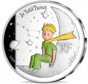 Stříbrná mince Malý princ - Měsíc proof 2021