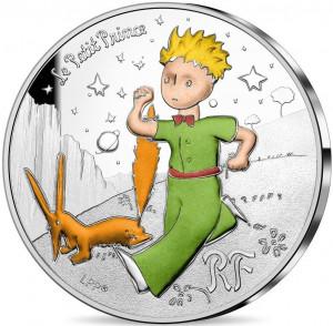 Stříbrná mince Malý princ - Liška proof 2021