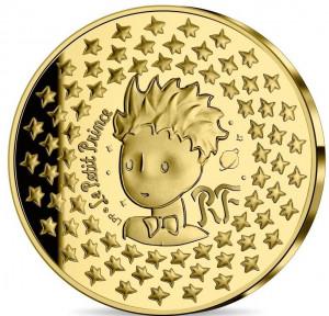 Zlatá mince Malý princ 0,5 g proof 2021