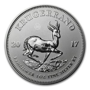 Stříbrná mince 50. výročí Krugerrand 1 oz 2017