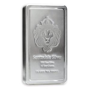 Stříbrný investiční slitek Stacker 10 oz Scottsdale
