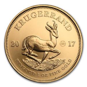 Zlatá mince 50. výročí Krugerrand 1 oz 2017