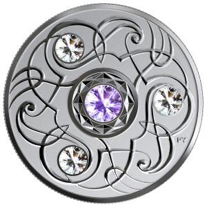 Stříbrná mince Birthstone Collection prosinec 1/4 oz proof 2020