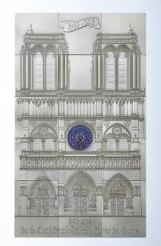Stříbrná mince Notre Dame 1 kg