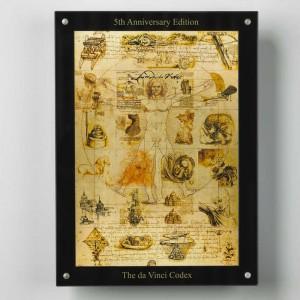 Stříbrná mince Da Vinci Codex