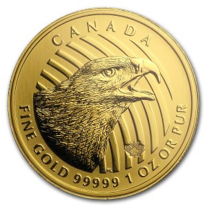Zlatá mince Zlatý orel 1 oz