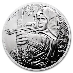 Stříbrná mince Robin Hood 1 oz BU 2019