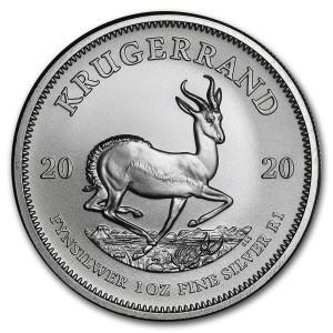 Stříbrná mince Krugerrand 1 oz