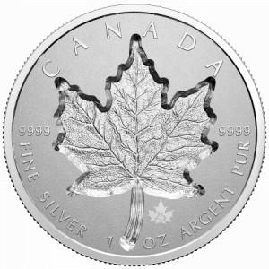 Stříbrná mince Maple Leaf 1 oz super incuse 2021