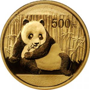 Zlatá mince Panda 1 oz BU