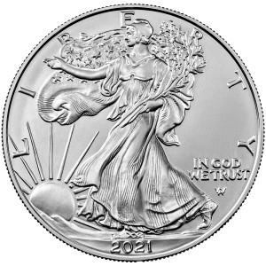 Stříbrná mince American Eagle 1 oz New design 2021