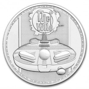 Stříbrná mince Hudební legendy - The Who 1 oz BU 2021