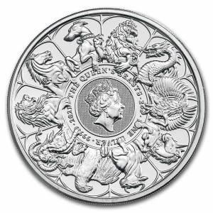 Stříbrná mince The Queen's Beasts 2 oz 2021