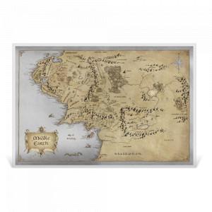 Stříbrný plakát Lord of the Rings - Středozemě 35 g 2021