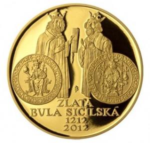 Zlatá mince Zlatá bula sicilská 1 oz proof