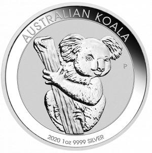 Stříbrná mince Koala 1 oz 2020