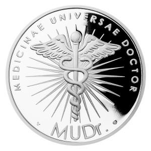 Stříbrná medaile MUDr.