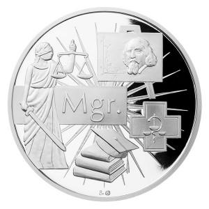 Stříbrná medaile Mgr.