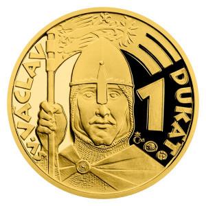 Zlatý 1-dukát sv. Václava
