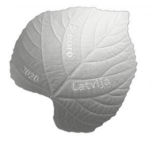 Stříbrná mince Lipový list 15.3 g proof 2020