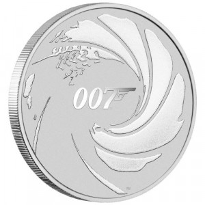 Stříbrná mince James Bond 007 1 Oz 2020