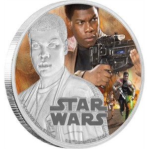 Stříbrná mince Star Wars The Force Awakens - Finn™ 1 oz