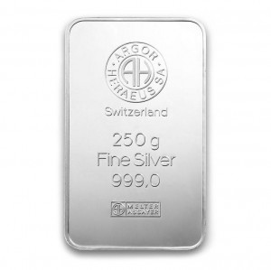 Stříbrný investiční slitek 250 g
