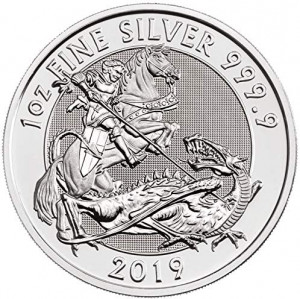 Stříbrná mince The Valiant 1 oz 2019
