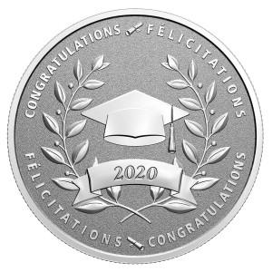 Stříbrná mince Gratulace k promoci 1/2 oz 2020