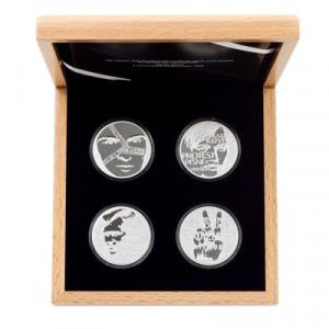 Stříbrná sada mincí Cesta za svobodou 4 x 2 Oz proof 2019