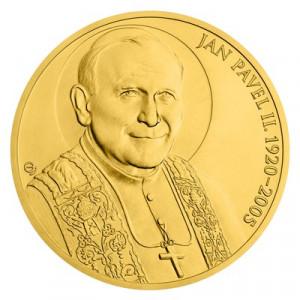 Zlatá mince Papež Jan Pavel II. 348,5 g 2020
