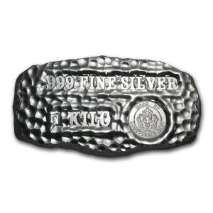 Stříbrný investiční slitek Tombstone 1 kg Scottsadale