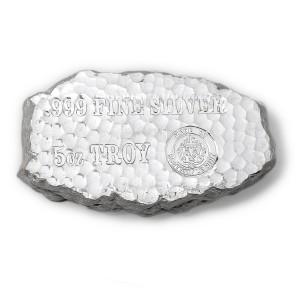 Stříbrný investiční slitek Tombstone 5 oz Scottsdale