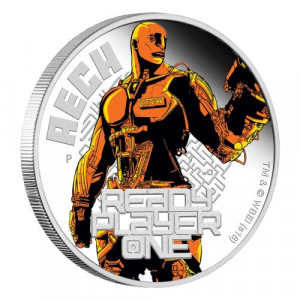 Stříbrná mince Ready Player One: Aech 1 oz proof 2018