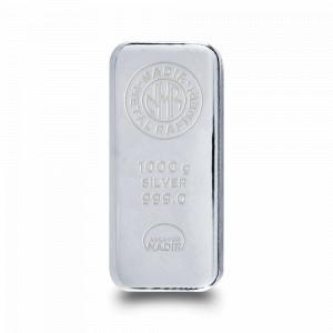 Stříbrný investiční slitek 1 kg