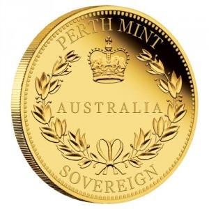 Zlatá mince Australský Sovereign 2018