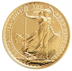Zlatá mince Britannia 1 oz