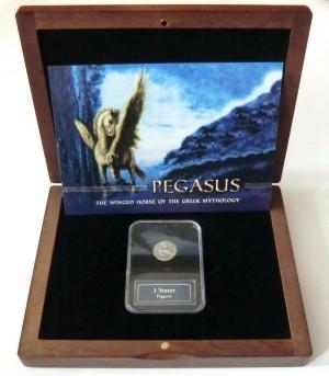 Stříbrná mince 1 stater Pegasus